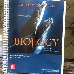 Other - Biology. Lab Manual. Principles of Biology Lab.